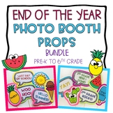 End of the Year Summer Photo Booth Props: Bundle