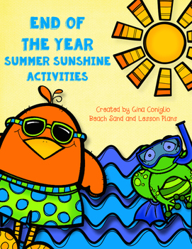 End of the Year Summer Sunshine Activities