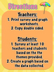 End of the Year Summer Themed Tally and Graphing Surveys