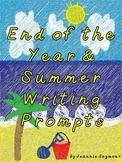 End of the Year & Summer Writing Prompts