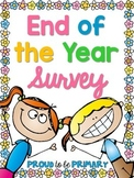 End of the Year Survey