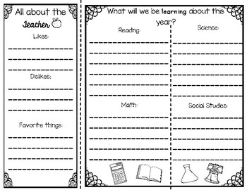 """End of the Year """"Survival"""" Brochure for ANY Grade Level"""