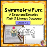 End of the Year Symmetry Introduction: Finish the drawings w/Writing Prompts