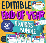End of the Year THIRD GRADE Student Superlative Awards BUNDLE