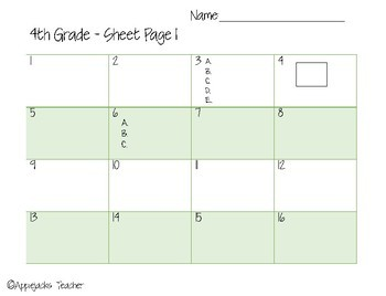 End of the Year Task Cards - 4th Grade - Common Core Aligned