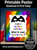End of the Year Teacher Assistant Appreciation Thank You Gift Superpower Sign