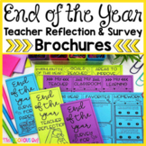 End of the Year Teacher Reflection and Surveys