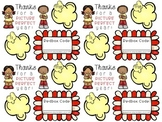 End of the Year Teacher Student Gift Tags Labels Full Colo