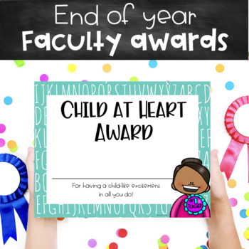 End-of-the-Year Teacher Superlatives