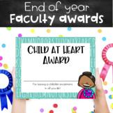 End-of-the-Year Teacher Superlatives