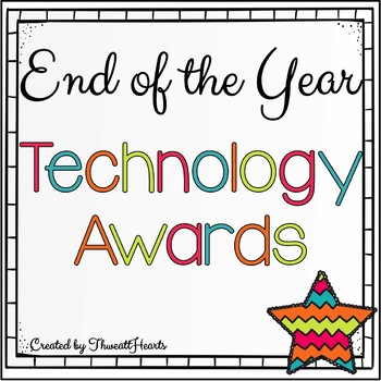 End of the Year Technology Awards