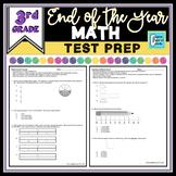 Math Test Prep Practice Test 3rd Grade