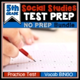 End of Year Social Studies Review Test Prep - 5th Grade