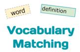 Vocabulary Practice | Template | Google Slides | Distance