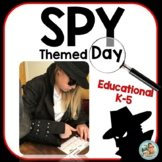 SPY DAY Themed Days - SPY Mystery Thermatic units