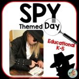 SPY DAY Themed Days - SPY Mystery Thermatic units