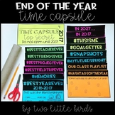 End of the Year Activities: End of the Year Writing, Time Capsule