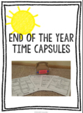 End of the Year Time Capsules
