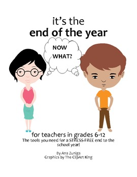 End of the Year Tips and Organizational Tools for Middle & High School Teachers