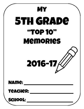 End of the Year Top 10 Lists/Memory Book