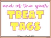 End of the Year Treat Tags