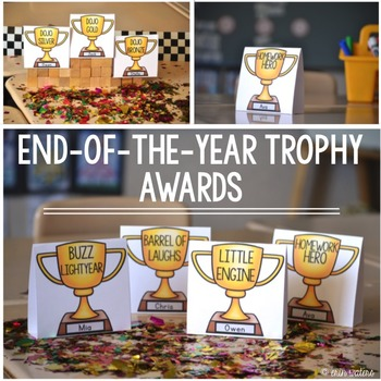 End of the Year Trophy Awards {50+ Student Celebrations!}