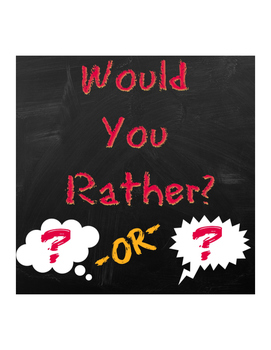 End of the Year Would You Rather Activity