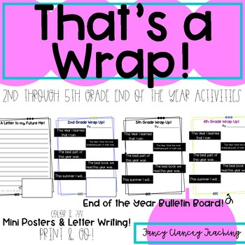 End of the Year Wrap Up!