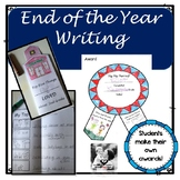 End of Year Writing: Student Made Awards and Top Things I