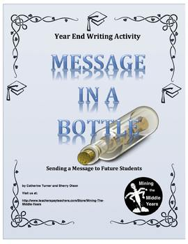 End of the Year Writing Activity – Letter to Future Students