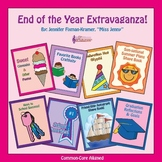 End of the Year Writing Activities -  87 p. / Common Core-Aligned