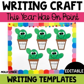 End of the Year Writing Craftivity {This Year Was on Point}