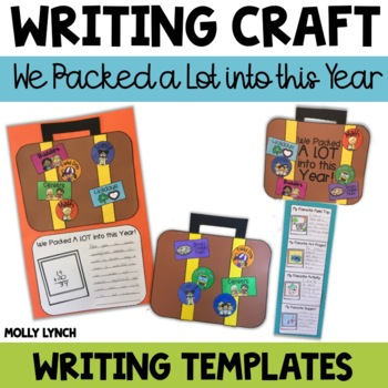 End of the Year Writing Craftivity {We Packed a LOT into this Year!}
