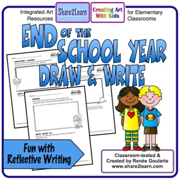 End of the Year Writing Draw and Write