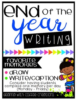 End of the Year Writing Flip-Books