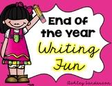 End of the Year Writing Fun