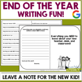 End of the Year Activities: Writing Fun