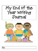 End of the Year Writing Journal