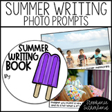 Summer Writing: Photo Prompt Cards and Writing Paper