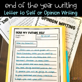 End of the Year Writing Project