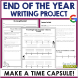 End of the Year Activities: Writing Project: Create a Time