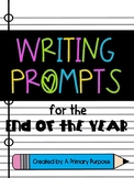 *FREEBIE* End of the Year Writing Prompts