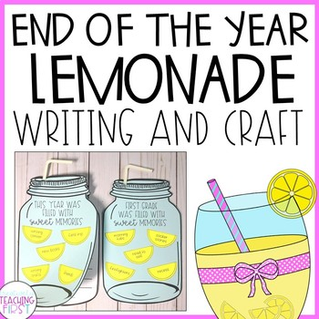 End of the Year Writing Craft - Lemonade