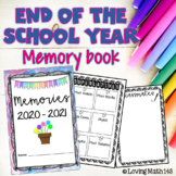 End of the Year - Yearbook / Memory Book