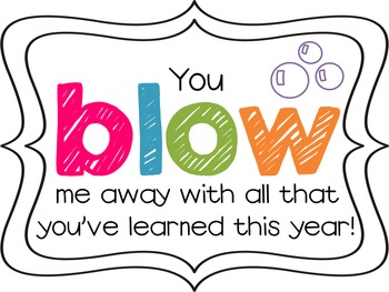 Slobbery image pertaining to you blew me away this year free printable