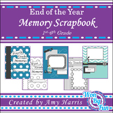 End of the Year Memory Scrapbook