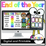End of the Year for Google Slides - Distance Learning