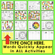 Summer Literacy Centers Sight Words Summer Game Boards - L