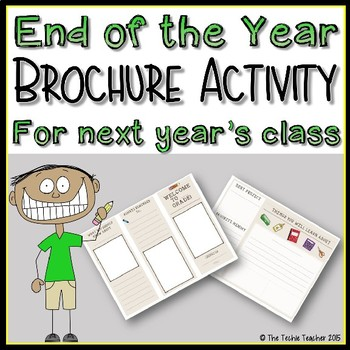 End of the Year/Beginning of the Year Brochure FREEBIE