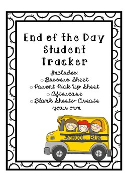 End of the day student tracker